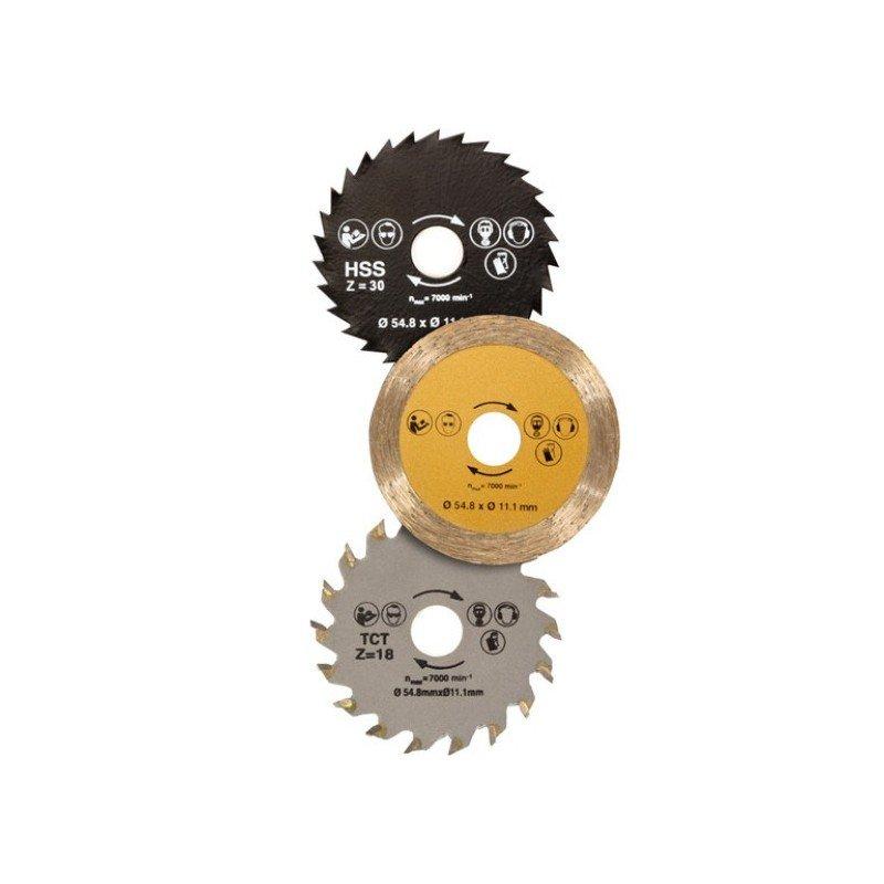 Set de discos sierra circular cyclorazer a un precio - Sierra circular precio ...