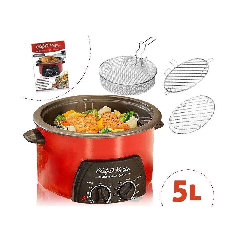 Chef o matic 5 l robot de cocina multifunci n 12 en 1 a - Robot chef o matic pro ...
